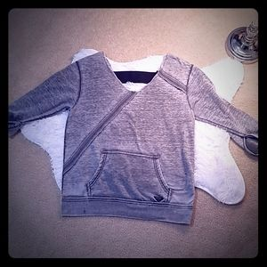 Roxy open back sexy light sweatshirt